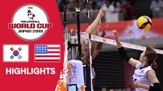 KOREA vs. USA - Highlights | Women