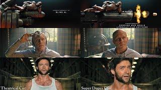 Deadpool 2: Theatrical VS Super Duper Cut Comparison