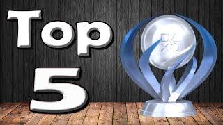 Top 5 Most Impressive Platinum Trophies