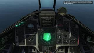 DCS: AJS-37 Viggen RB-04 Anti-ship missile tutorial