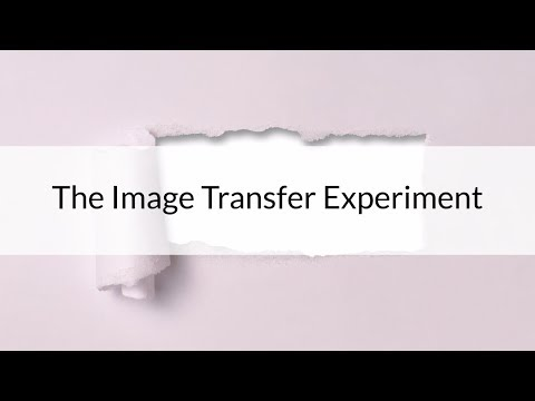 An Image Transfer Experiment