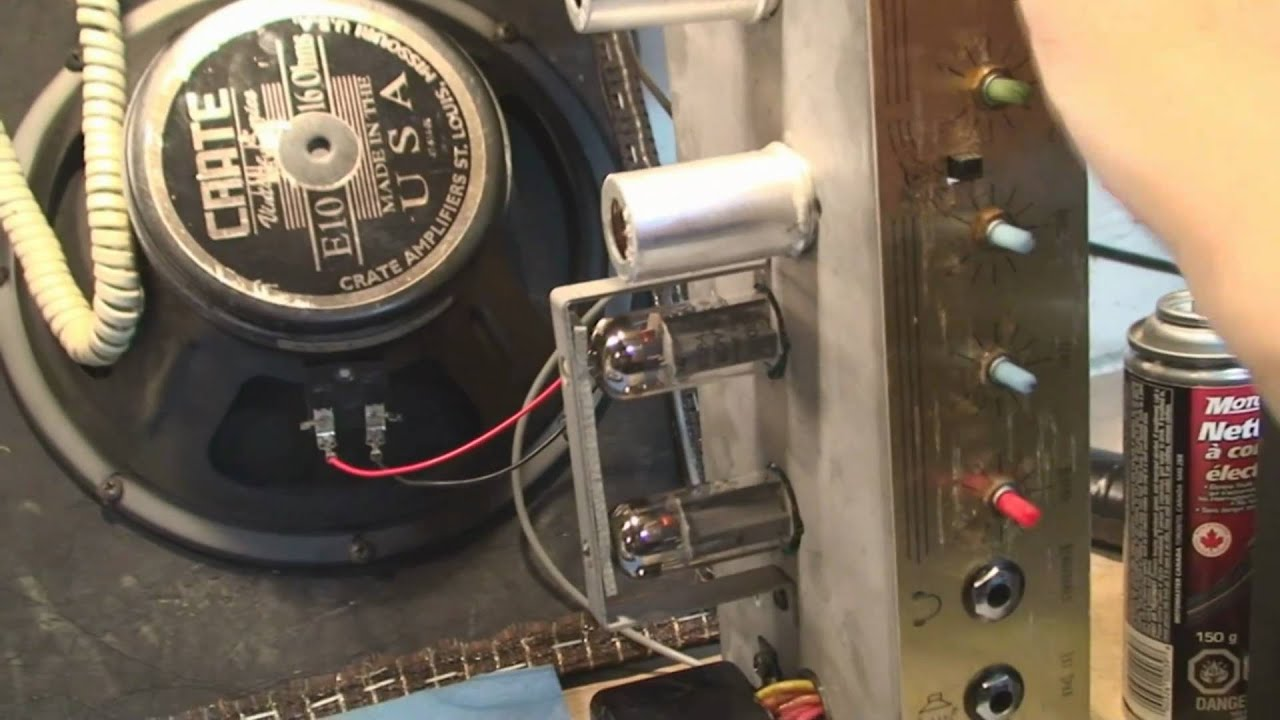 crate guitar amp repair [ 1280 x 720 Pixel ]