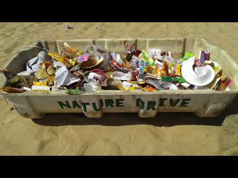 NDTI beach cleaning to protect the ocean Paradip Bay of Bengal