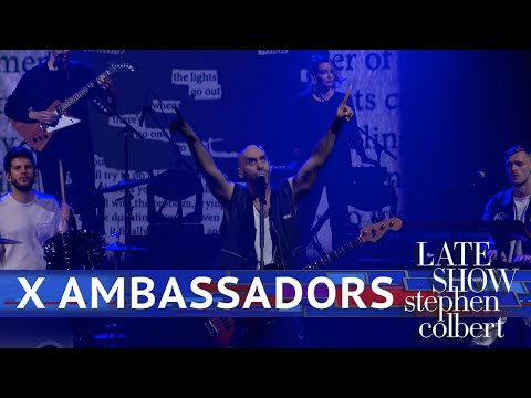 X Ambassadors Perform 'Hold You Down'