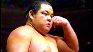 Asahifuji vs. Hokutoumi : Tokyo (Aki) - September 23, 1990 (旭富士 対 北勝海)