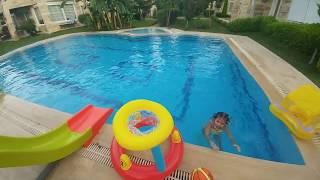 HAVUZDA BASKET ATMACA, havuz için eğlenceli oyuncak
