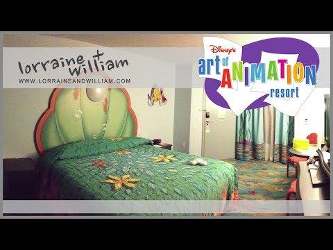 Disney's Art of Animation Resort - The Little Mermaid Standard Room | February 2013