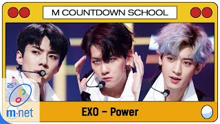 Download lagu [EXO - Power] MCD School Special | M COUNTDOWN 200402 EP.659