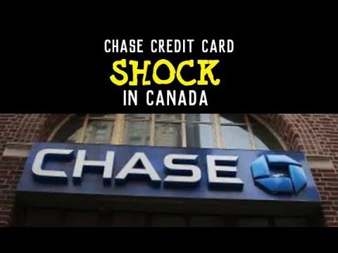SHOCK! - Chase Erases Canadians Credit Card Accounts, Bankrupties Pick Up In The USA