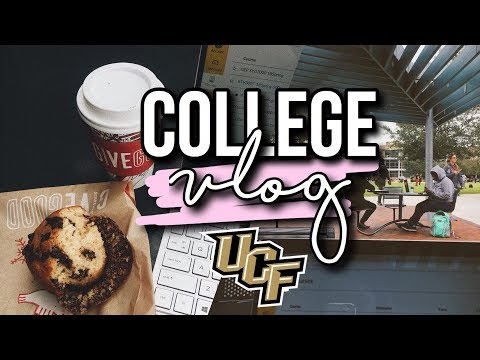 follow me around: first days at ucf! | college vlog