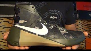 видеообзор Nike Hyperdunk 2015 PRM Cargo Khaki Camo от Свистова Арсения
