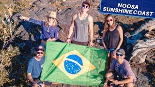 UM DOS LUGARES MAIS LINDOS DA AUSTRALIA com O casal na Gringa / Bora viajar Aus