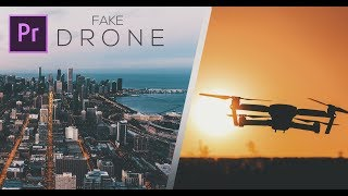 Fake Drone Effect using Google Maps // Adobe Premiere Pro CC 2017