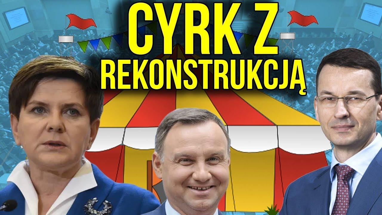 Mateusz Morawiecki i Rekonstrukcja Rządu bez Zmiany Ministrów – Polityczny Cyrk za MILIONY ZŁOTYCH