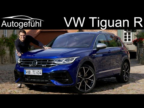first-ever VW Tiguan R 320 hp FULL REVIEW with new torque vectoring Tiguan Facelift 2021  Autogefühl
