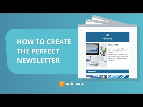 How To Create An Email Newsletter For Gmail And Outlook