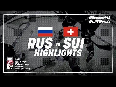 Game Highlights: Russia vs Switzerland May 12 2018 | #IIHFWorlds 2018