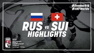 Game Highlights: Russia vs Switzerland May 12 2018 | #IIHFWorlds 2018
