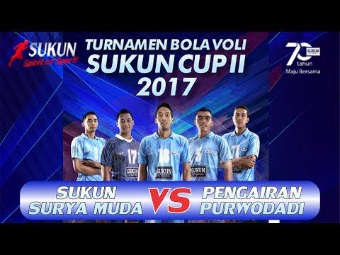 Penyisihan Sukun Surya Muda vs PU Pengairan Purwodadi Turnamen Voli SUKUNCUP 2017