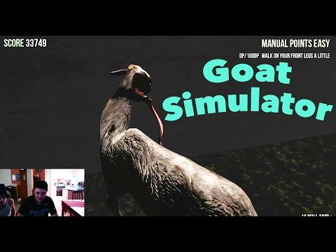 Goat Sim with Matthew (His First Time)