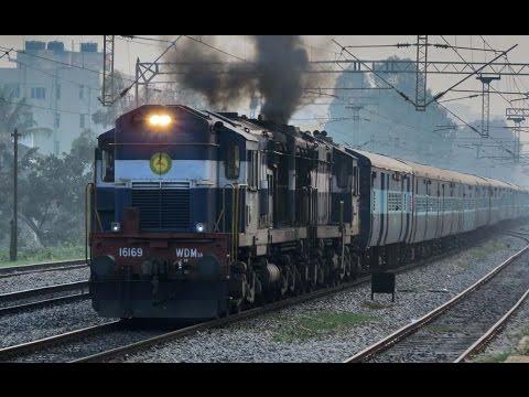 The Prancing Deer of Indian Railways - Diesel Loco Shed, ERODE (Part 1)