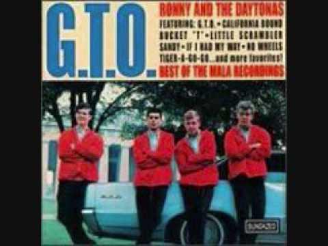 Ronny & The Daytonas - No Wheels