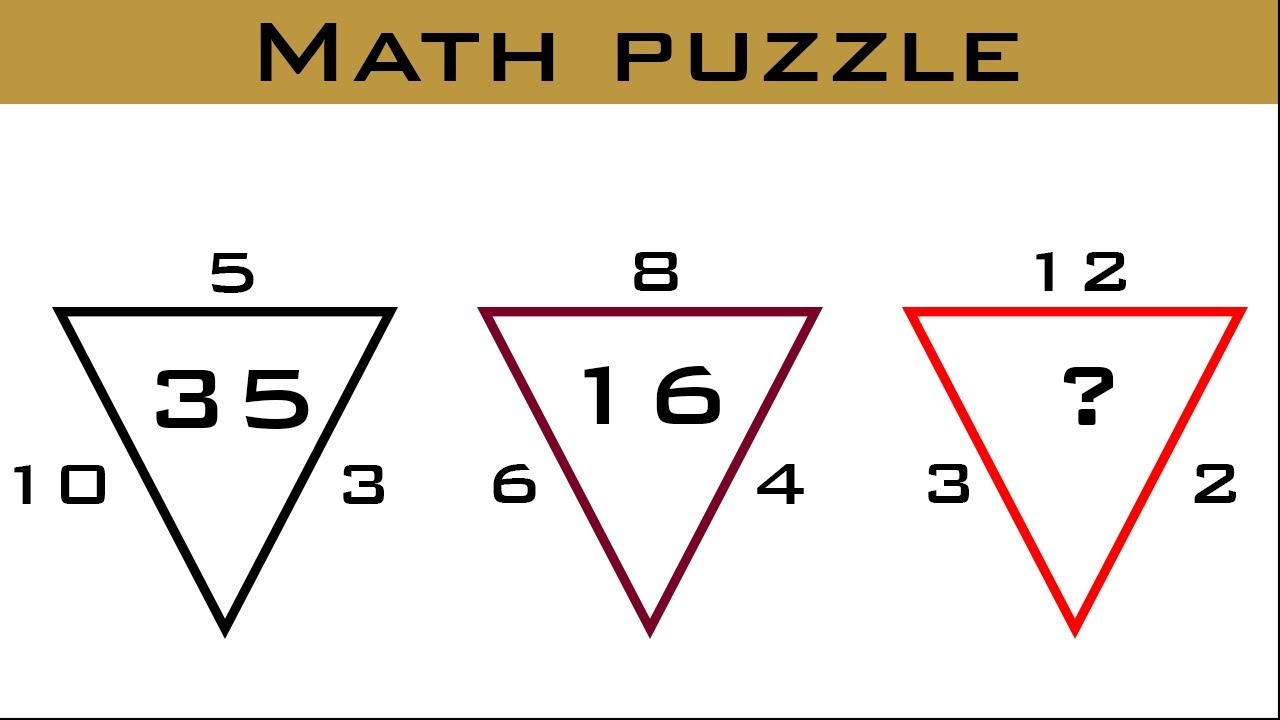 Can you solve this Maths Puzzle Game | Math Puzzles With Answers | Logic Puzzle