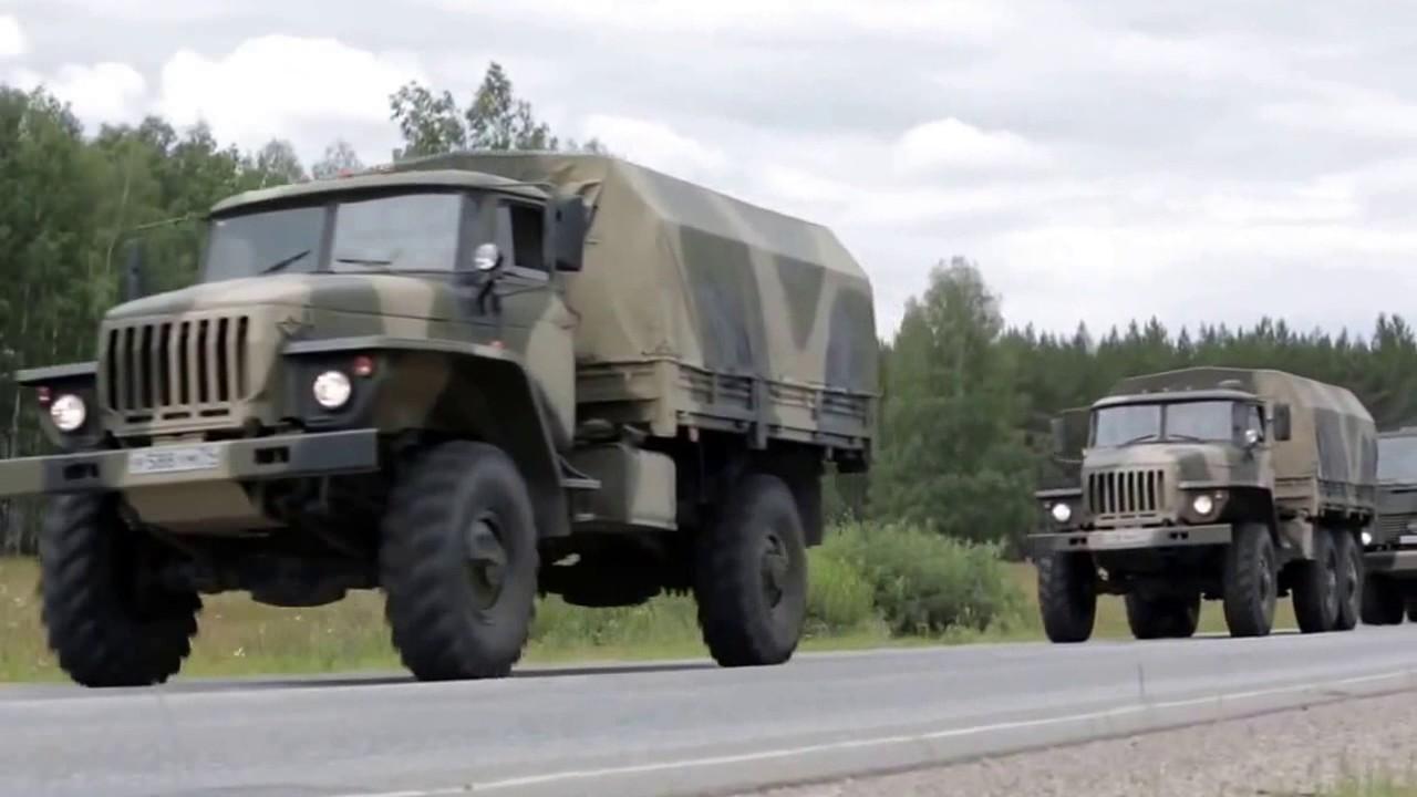 УРАЛ-43206, 4320, 6370 (аналоги КАМАЗ-43502, 43118) - грузовики военного назначения