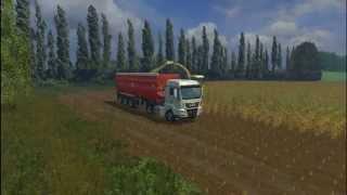 �������� ���� FS2015 Уборка кукурузы ������