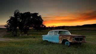 Глухая американская деревня в Канзас США
