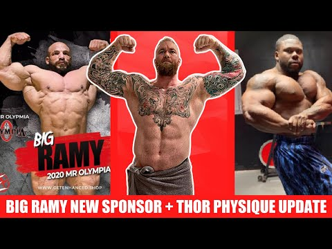 Thor's Current Physique + Big Ramy's New Sponsor + Shawn Rhoden Vacuum Pose + Keone and Steve