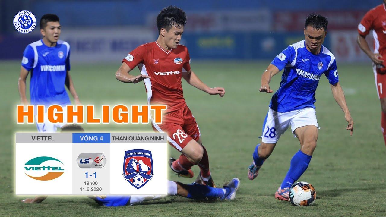 Highlights Viettel Vs Than Qu U1ea3ng Ninh H U1ed3 Kh U1eafc Ng U1ecdc U0111 U00e1