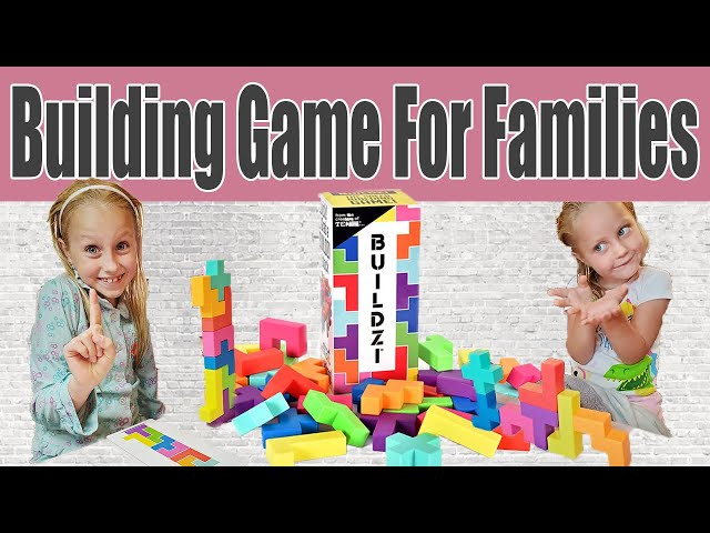 BUILDZI GAME REVIEW | BUILDING GAMES FOR FAMILIES BUILDZI |  Games for The Whole Family