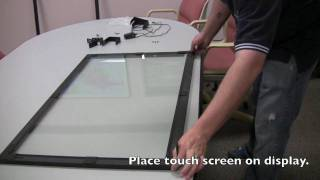 How To: Keytec IR Touch Screen Setup (OPTIR 32A Model)