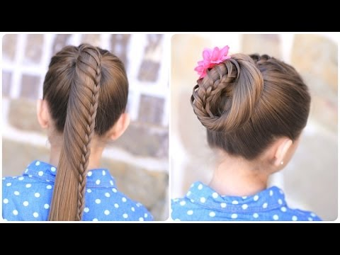 Lace Braided Ponytail Style Laboration With Lilith Moon