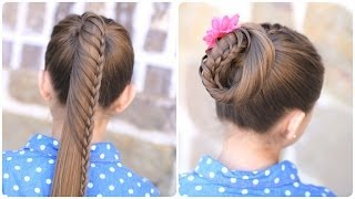 Repeat youtube video Lace Braided Ponytail | Style-laboration with Lilith Moon