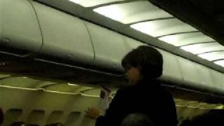 the funniest flight attendant ever