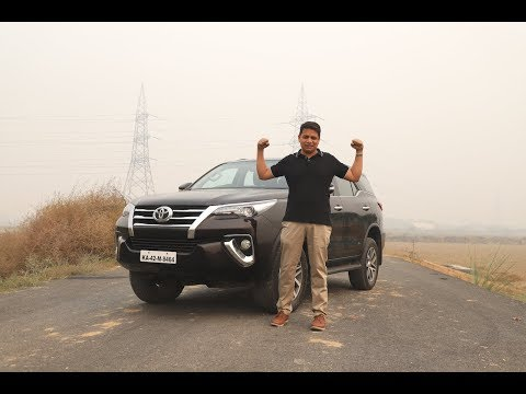 Toyota Fortuner Test Drive review Hindi