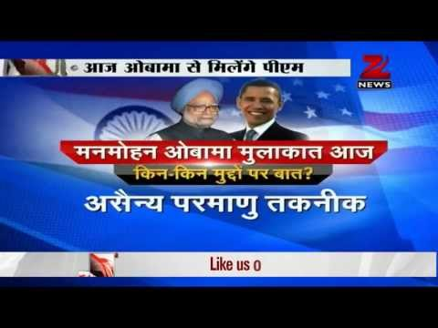 Manmohan singh to meet Barack Obama today