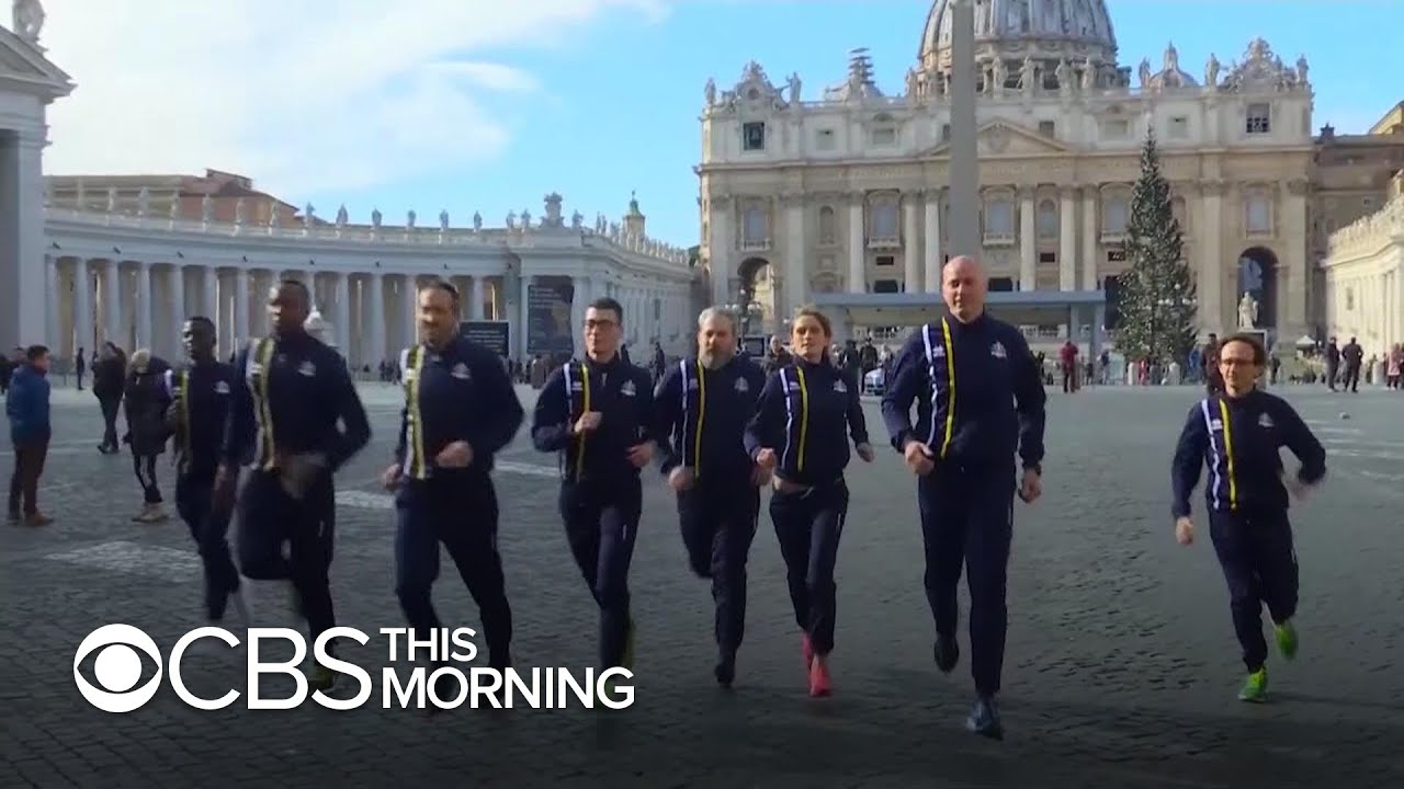 Godspeed: Priests and nuns on Vatican track team run first race