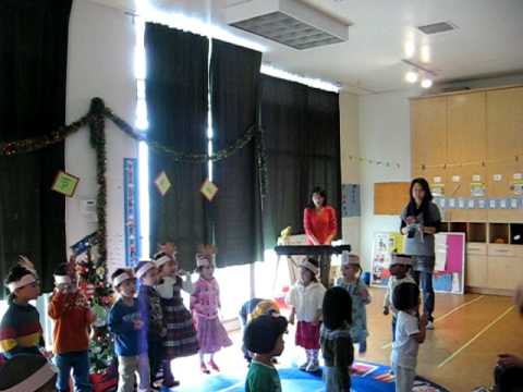 Charlene's Christmas party at Shu Ren International School 2009