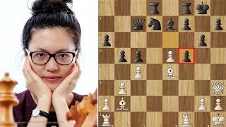 Don't mess with Hou Yifan!