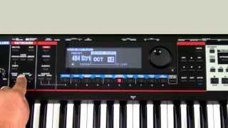 Roland Juno-Gi - How to Adjust Octaves