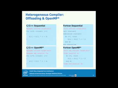 Intel MIC Architecture - Getting Started with Intel MIC Coding-Debug
