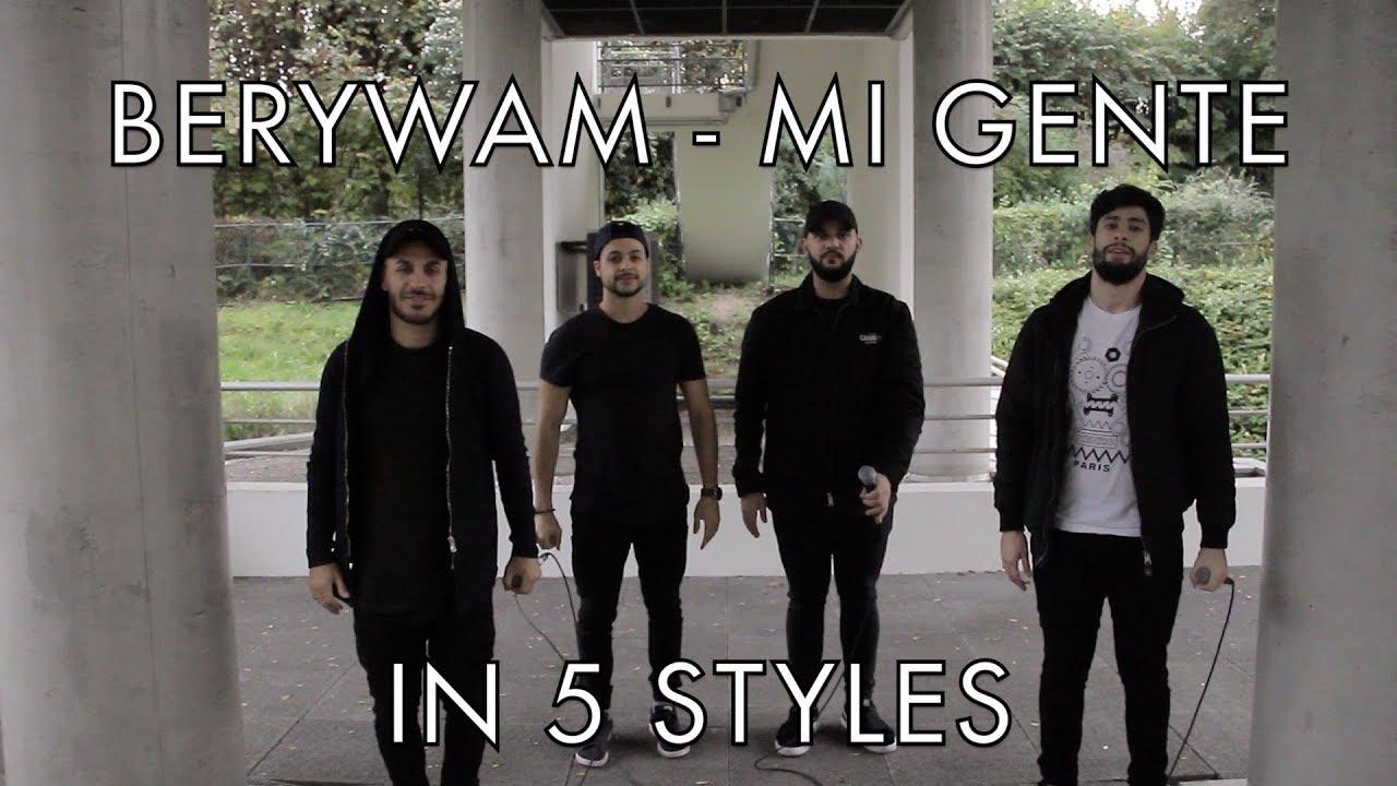Berywam - Havana (Camila Cabello Cover) In 5 Styles - Beatbox