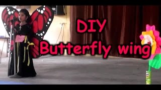 DIY Butterfly wings for kids : How to make butterfly wings for Fancy Dress Competition