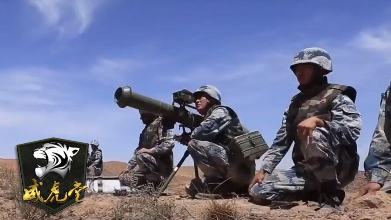 落地就打!空降军某部在西北大漠发起突袭战 重火力还是它 | 威虎堂