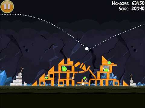 Official Angry Birds Walkthrough Mine And Dine 16-8