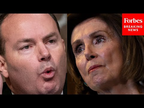 Mike Lee Accuses Pelosi Of Displaying 'Total Loss Of Political Grace' In Imposing No-Mask
