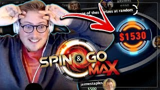 CRAZY SPIN & GO MAX POKER SESSION!! PokerStaples Stream Highlights